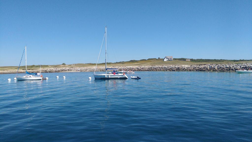 Port d'Hoedic, un jour calme
