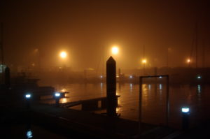 Camarinas dans le brouillard - vous avez dit glauque ?